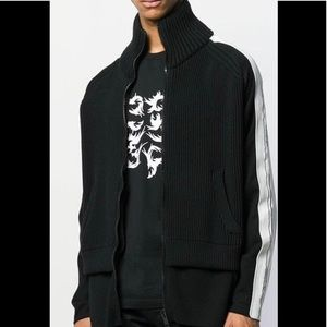 Givenchy Mens Jumper Sweater With Zip Size M